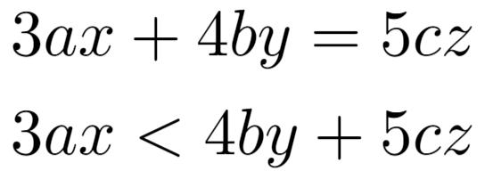 Operator spacing in LaTeX
