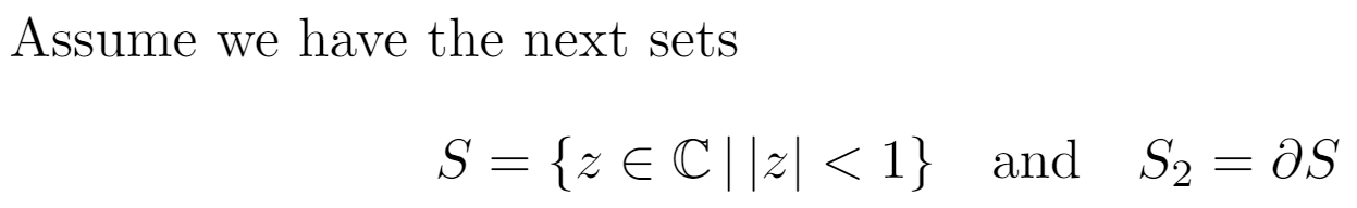 Example showing adjustments to math spacing