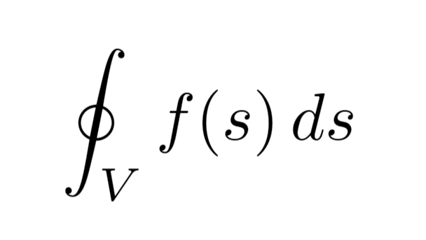 Example of integrals
