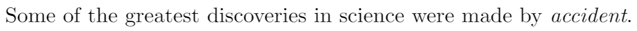 Example of italicized text